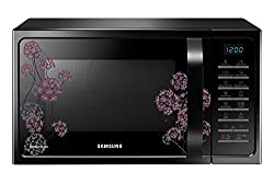 Samsung MC28H5025VF 28-Litre Convection Microwave Oven (Black)