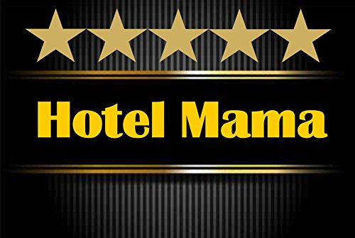 Creativ Deluxe Hotel Mama - Fussmatte Bedruckt Türmatte Innenmatte Schmutzmatte lustige Motivfussmatte