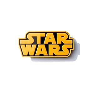 Star Wars Logo Wandlampe 3D Light FX LED Kinderlampe -Nachtlicht für kinder mit automatische Abschaltung und wandaufkleber