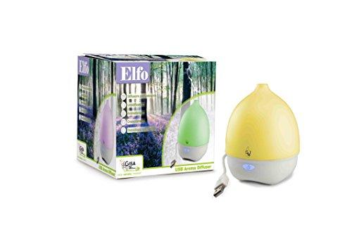 ELFO Diffuseur d'arôme, parfum et huile essentielle à ultrasons
