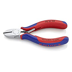 Knipex 70 15 110 Mini-Seitenschneider, Schneiden bis Ø 3,0 mm, Länge 110 mm