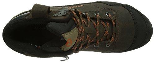 Merrell Polarand Rove Wtpf, Stivali di Gomma Donna Marrone (Braun (BLACK SLATE))