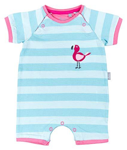 Sigikid Baby-Mädchen-Overall, kurz-Spieler-Schlafanzug Sommer Schlafstrampler, Blau (Starlight Blue 575), (Herstellergröße: 74)