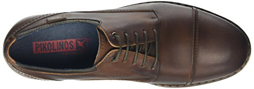 Pikolinos Caceres M9E I16, Chaussures Lacées Homme Marron (Dpgreen)