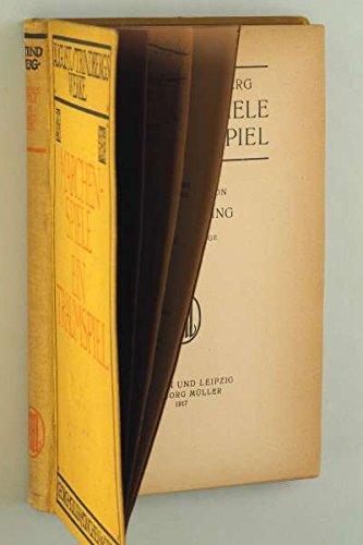 Strindberg, August: Märchenspiele - Ein Traumspiel.Verdeutscht von Emil Schering. (Strindbergs Werke. Dt. Orig.-Ausg., 9. Aufl. München/Leipzig, Müller, 1917. 8°. 239 (1) S. Ln.