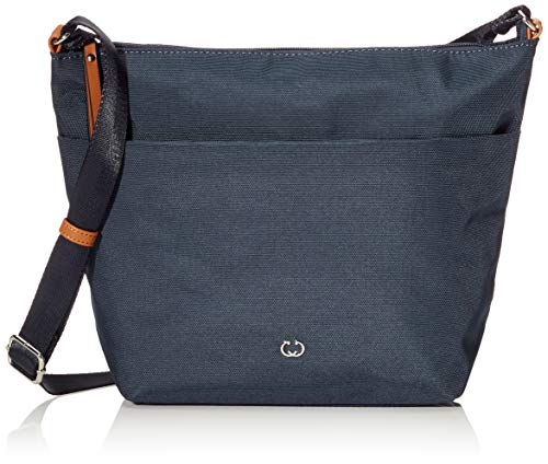 Gerry Weber Damen Lemon Mix II Shoulder Bag H, L Schultertaschen, Blau (402), 23x25x10 cm
