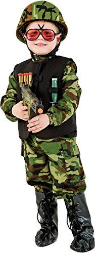 (Carnevale Venizano CAV50494-XXXL - Kinderkostüm Commando - Alter: 11-12 Jahre - Größe: XXXL)