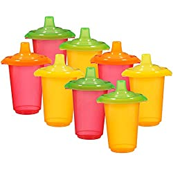 Munchkin 10 Ounce Click Lock Re-usable Sippy Cups (8 Count)