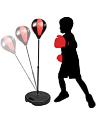 KidsHobby® Kinder / Jugend / Kinder Standboxball + Handschuhe Boxen Spielzeug