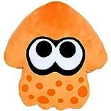 "Sanei Splatoon Series Orange Splatoon Squid Cushion 14"" Plush"