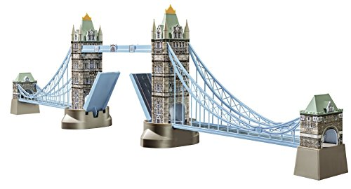 Ravensburger 12559 - Tower Bridge-London - 216 Teile 3D Puzzle-Bauwerke