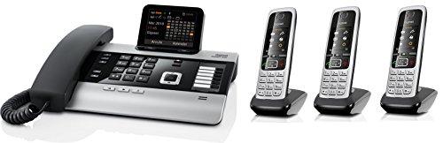 Gigaset DX600A SET mit 3x C430H Mobilteil - ISDN, Anrufbeantworter, Bluetooth® ECO DECT