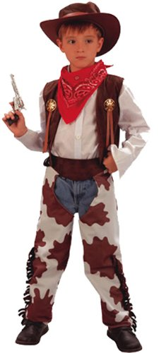 (Fyasa 701549-t02Cowboy Kostüm, Mittel)