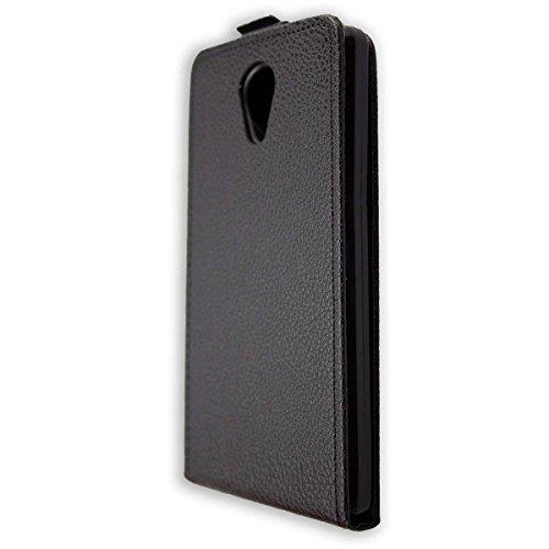 caseroxx Flip Cover für Archos Core 50 / Core 50 Lite, Tasche (Flip Cover in schwarz)