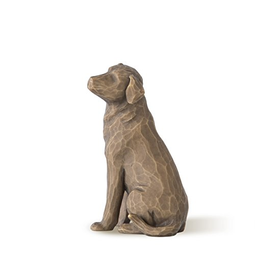 Willow Tree 27683 Figur Love My Dog, 4,4 x 5,7 x 8,6 cm