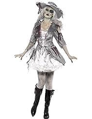 Smiffy's 24362M Geisterschiff-Piratenschatz-Kostüm für Damen
