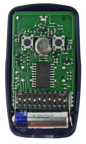 Zoom IMG-2 nice flo2 telecomando frequenza 433