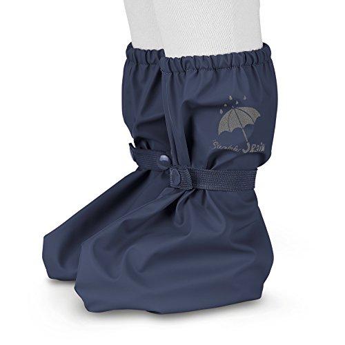 Sterntaler Unisex Baby Regen-Überschuh mit Druckknopf, Alter: 0-24 Monate, Größe: One Size, Farbe: Blau (Marine), Art.-Nr.: 5651690