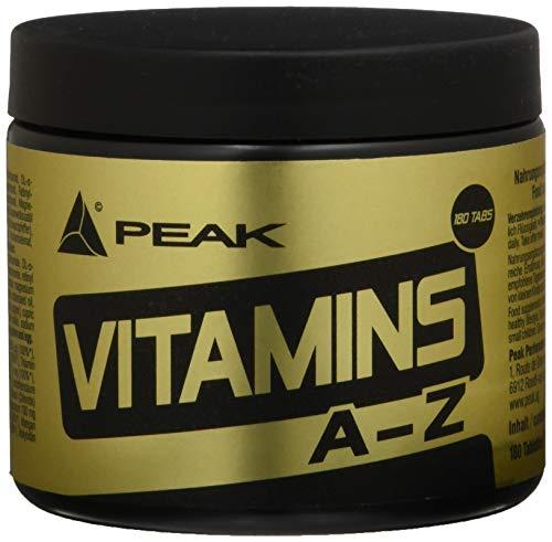 PEAK Vitamin A-Z - 180 Tabletten à 750mg -