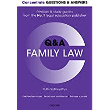 Concentrate Questions and Answers Family Law: Law Q&A Revision and Study Guide (Concentrate Law Questions & Answers)