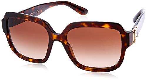 DOLCE&GABBANA  Damen Sonnenbrille 0DG4336, Braun (Havana), 56