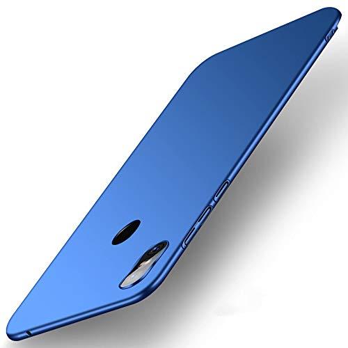 SPAK Xiaomi Mi Mix 3 Hülle, Qualitäts Schutzhülle Harter PC rückseitiger Abdeckungs Handyhülle Fall Cover für Xiaomi Mi Mix 3 (Blau)