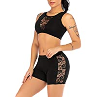2019 Pantalones Mujer Verano Casual Moda Perspectiva Yoga Chaleco Shorts Deporte Fitness Conjunto EláStico