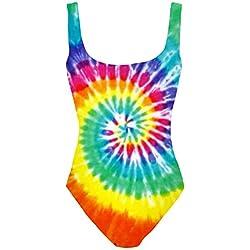 Fringoo - Conjunto - para mujer Multicolor Tie Dye talla única