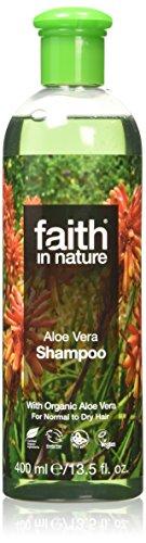 La fede in natura Aloe Vera 400ml Shampoo Rafforzare normali e secche dei capelli