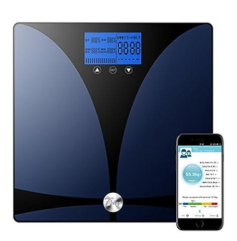Thinp Personenwaage Digitale Waage mit Bluetooth , Vermessung von Gewicht,