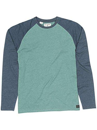 G.S.M. Europe - Billabong Herren Allday Tee Ls Shirt und Hemd algae heather