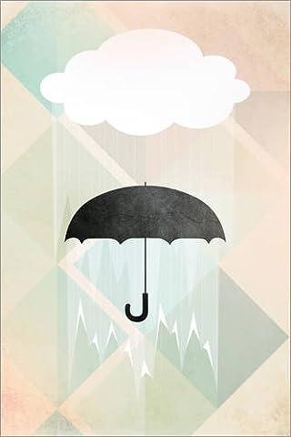 Forex-Platte 80 x 120 cm: Umbrella von Julia