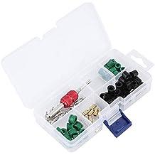 Kit de Herramientas de Eliminación de Aire Acondicionado, 71 Piezas de Reparación de Válvulas de