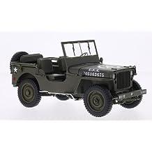 Inklusive 4 Figuren 1//4 TON Army Truck Grün Jeep Willys USA Army 2 Weltkrieg ..