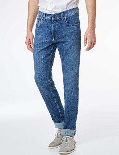Pioneer Herren Straight Jeans Rando Blau (stone 06)