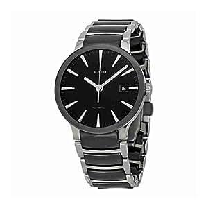 Rado Centrix Homme 38mm Noir Céramique Bracelet Date Montre R30941152