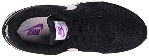 Nike Wmns Md Runner 2, Scarpe da Ginnastica Basse Donna Nero (Black/Hyper Violet/Bleached Lilac/White)