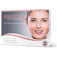 APRICOT SKIN® Facial Patches / Parches antiarrugas faciales (boca)¡ Un método suave y duradero para la reducción de las arrugas! 100 parches para la boca