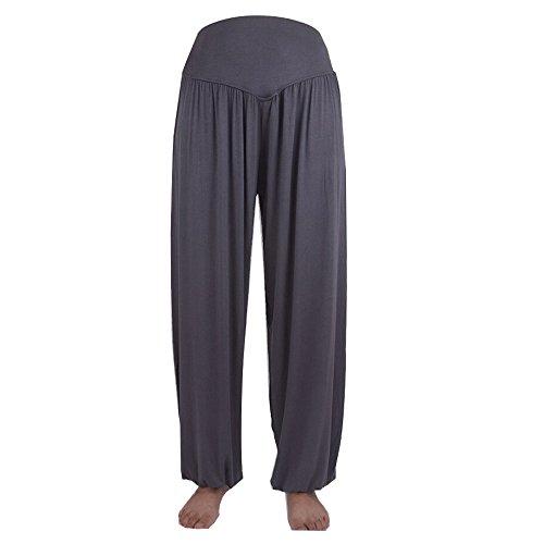 Sanwood - Pantalon de sport - Femme noir vert fluorescent taille unique gris foncé