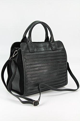 FredsBruder Perfect Match Handtasche taupe black