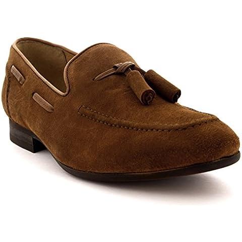 H by Hudson Pierre F406025 - Zapatos de piel para hombre