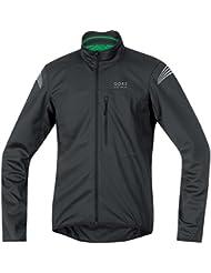 Gore Bike Wear Element Windstopper Soft Shell - Chaqueta para hombre, color negro, talla M