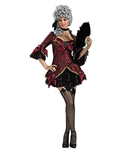 Horror-Shop Düsteres Lady Versailles Marie Antoinette Kostüm für -