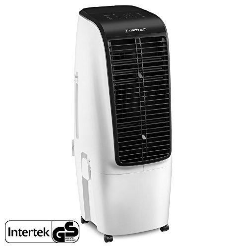 TROTEC PAE 51 Aircooler, mobiles Klimagerät 4 in 1 | Luftkühlung, Ventilation, Lufterfrischung und Luftbefeuchtung | 4 Gebläsestufen | Geeignet für Räume bis ca. 60 m²/150 m³ (Luft 4in)