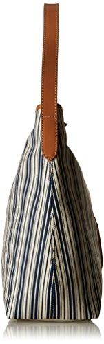 Timberland TB0M5154, Borsa a Spalla Donna, 12x35x33 cm (W x H x L) Blu (LIMOGES)