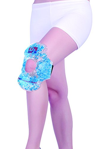 DJ Support #411 Knee/ Elbow Therapeutic Reusable Hot Cold Therapy Wrap with Gel Beads  available at amazon for Rs.525