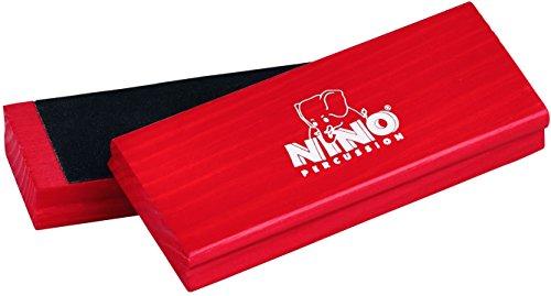 Meinl Percussion NINO940R Hand Percussion Sand Block rot
