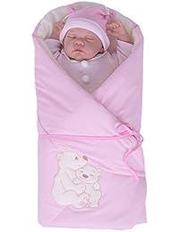 sevira Kids – Saco de dormir emein Mantita multiusos de 100% baumwolle Certificado – Nest