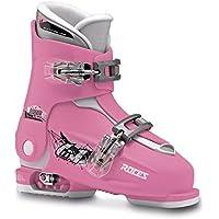 Roces Idea Scarponi da Sci, Unisex Bambini, Deep Pink/White, MP 19.0-22.0