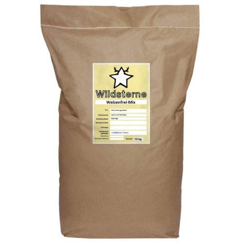 Bild: Wildsterne Hundefutter WeizenfreiMix für Ihren Hund Alter 1 Jahr Gewicht 15 kg 1er Pack 1 x 10 kg